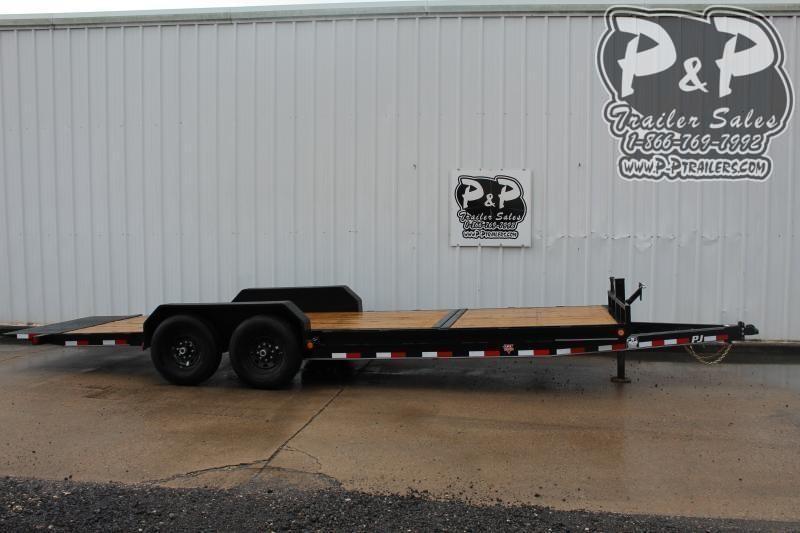 2020 PJ Trailers PJEQ20x83HDTILT 20 ft Equipment Trailer