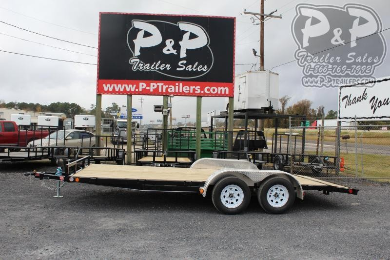 2020 PJ Trailers C421832CS2K 18 ft Flatbed Trailer