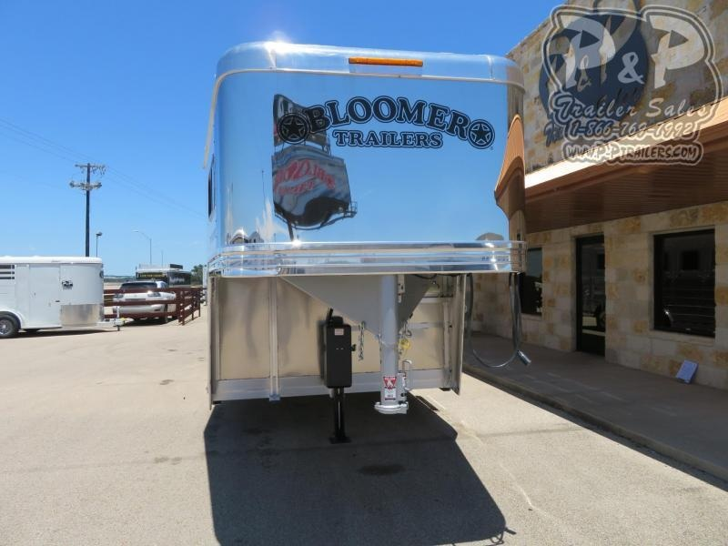 2020 Bloomer 87TRNS 7 Horse Slant Load Trailer w/ Ramps