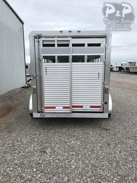 2019 P and P Livestock 16 foot bumper pull 16 ft Livestock Trailer