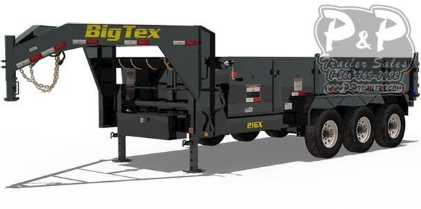 2019 Big Tex Trailers 21GX-16 Dump Trailer