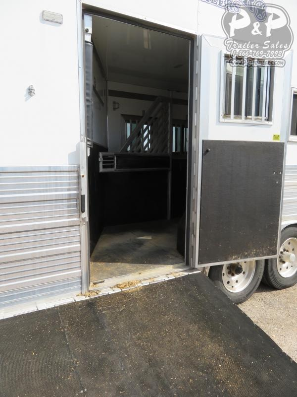 2016 Bloomer 8316TB 3 Horse Slant Load Trailer 16 FT LQ w/ Ramps