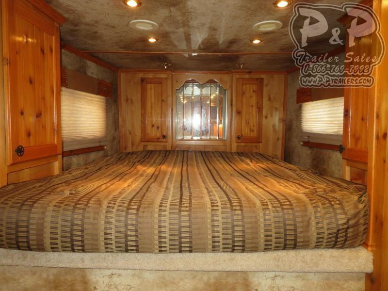 2006 Platinum Coach 8412 4 Horse Slant Load Trailer 12 FT LQ