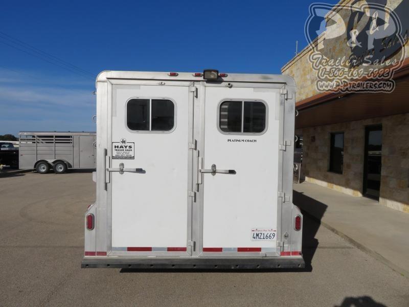 2007 Platinum Coach 5HGNDR 5 Horse Slant Load Trailer