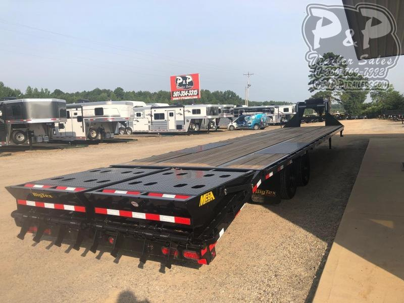 2020 Big Tex Trailers 22GN-35BK5MR 40' Flatbed Trailer