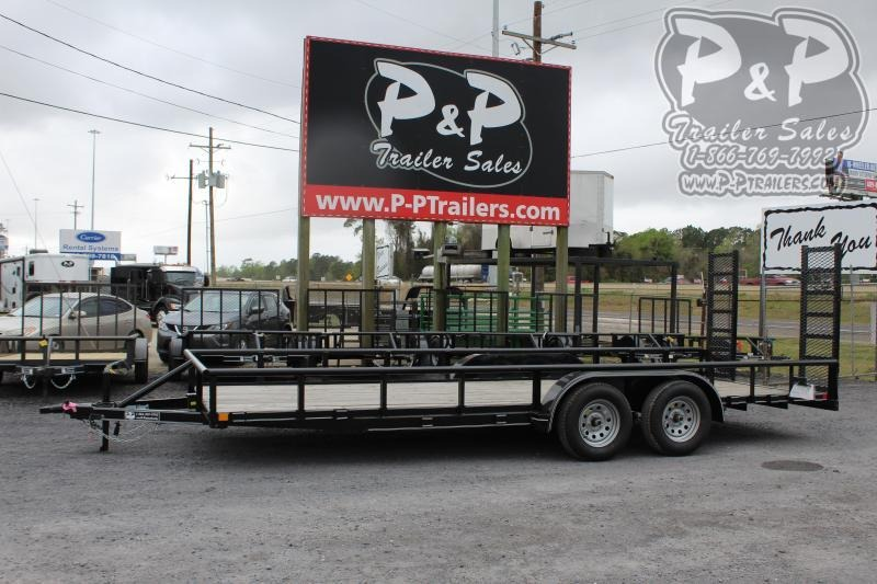 2019 P and P PPTA20X83GDFURPT 20 ft Utility Trailer
