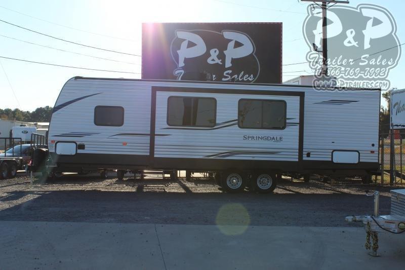 "2020 Keystone Springdale 296BH 33' 2"" ft Travel Trailer RV"