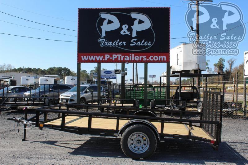 2020 P and P PPSA12X72LDRGPT 12 ft Utility Trailer