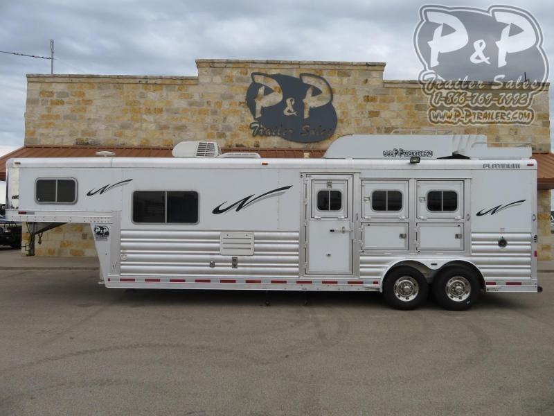 2016 Platinum Coach 8311 3 Horse Slant Load Trailer 11 FT LQ