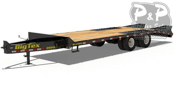 2020 Big Tex Trailers 20PH-20+5 Equipment Trailer