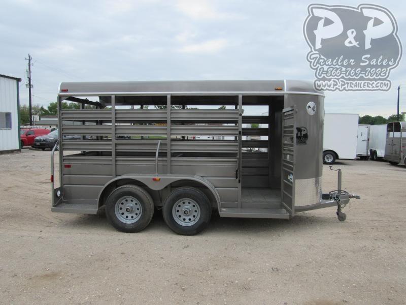 2020 W-W Trailer 14 x 5 Stock 14 ft Livestock Trailer