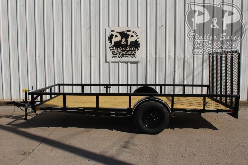 "2020 P and P PPSA14X83LDRGPT ***83"" x 14' *** Utility Trailer"