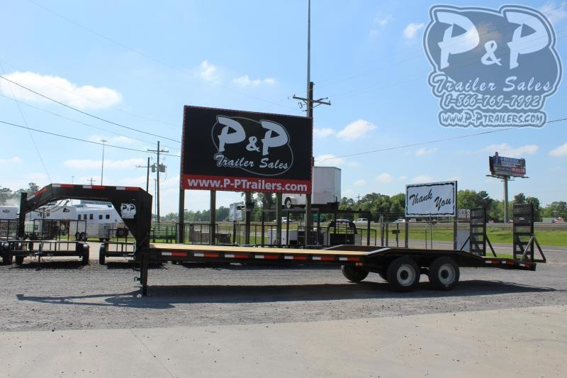 2020 P and P PPGNEQ30X102HDFUR10K 102 in Flatbed Trailer