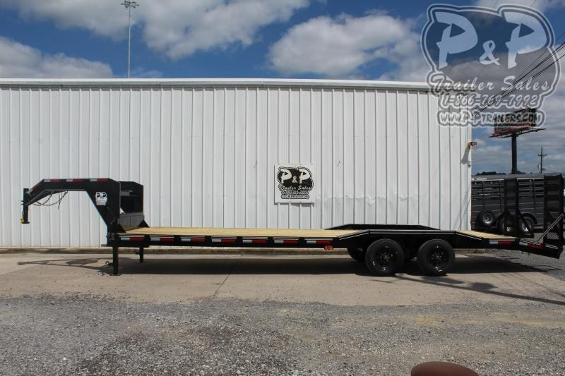 "2020 P and P PPGNEQ30X102HDFUR10K *** 30' (27+3) X 102"" Drive Over Fender*** Flatbed Trailer"
