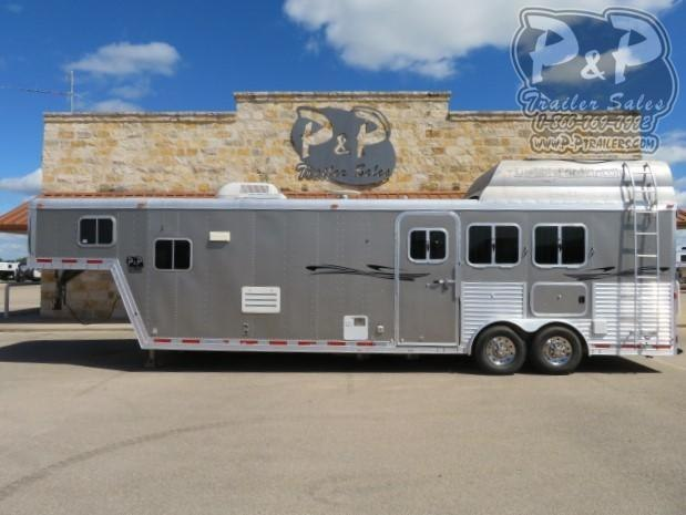 2004 Featherlite 8313 3 Horse Slant Load Trailer 13 FT LQ
