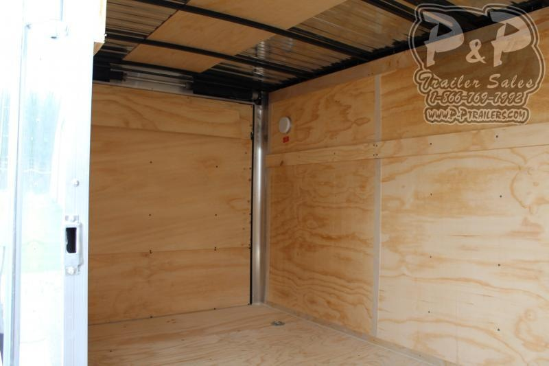 2020 Carry-On 7X14CGRBN 14 ft Enclosed Cargo Trailer