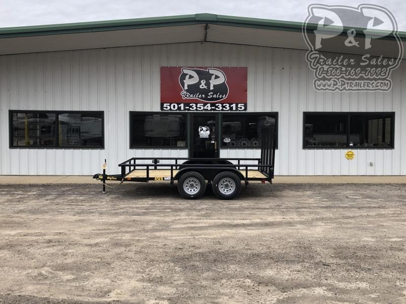 2020 Big Tex Trailers 45ES-12BK4RG 12 ft Utility Trailer