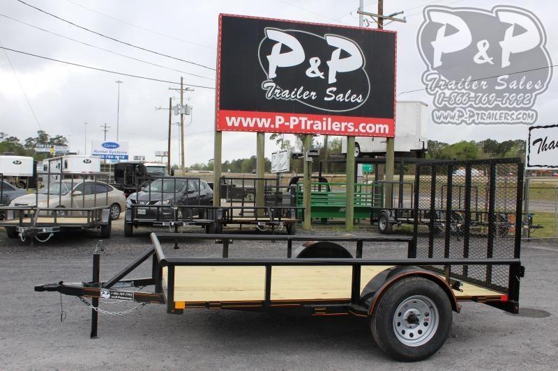 2020 P and P PPSA10X72LDRGPT 72 x 10 ft Utility Trailer