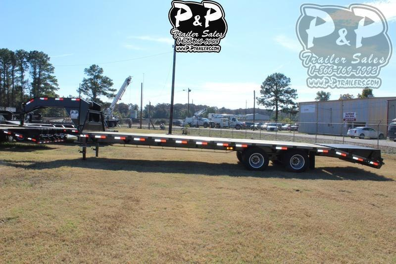 2020 P and P PPDT255X102HDMRLP 30 ft Flatbed Trailer