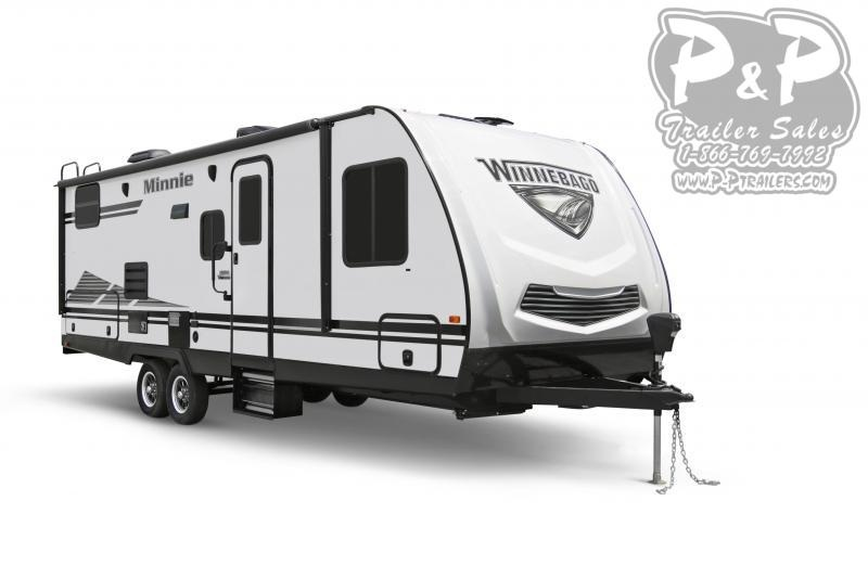 "2020 Winnebago Minnie 2701RBS 29' 7"" ft Travel Trailer RV"
