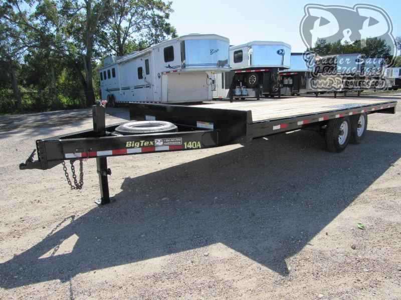 2018 Big Tex Trailers 140A 20 ft Flatbed Trailer