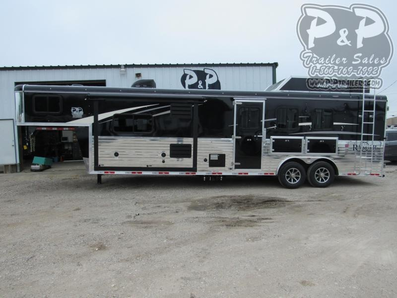2020 Bison Trailers 3 Horse 11 Shortwall Horse Trailer