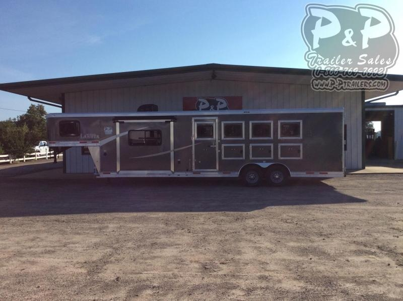 2020 Lakota AC8411 4 Horse Trailer 11' LQ With Slides