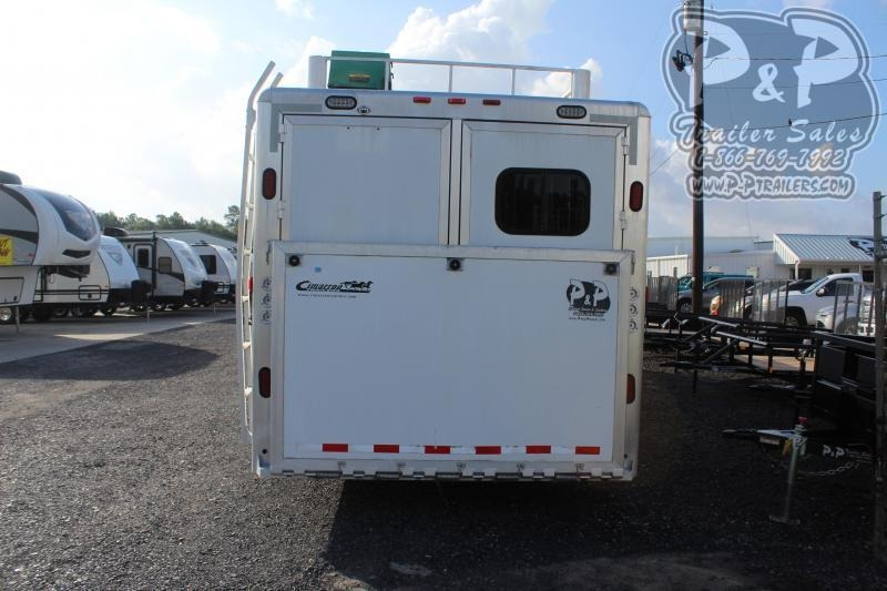 2005 Cimarron Trailers 8412 4 Horse Slant Load Trailer 12 FT LQ w/ Ramps