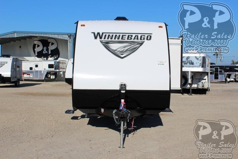 2019 Winnebago Micro Minnie 2306BHS 25.42 ft Travel Trailer RV