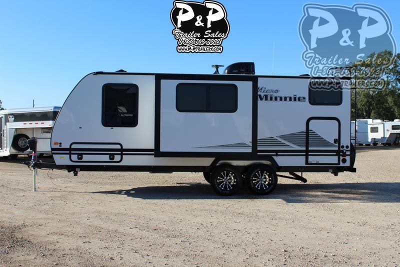 2020 Winnebago Micro Minnie 2306BHS 25.42 ft Travel Trailer RV