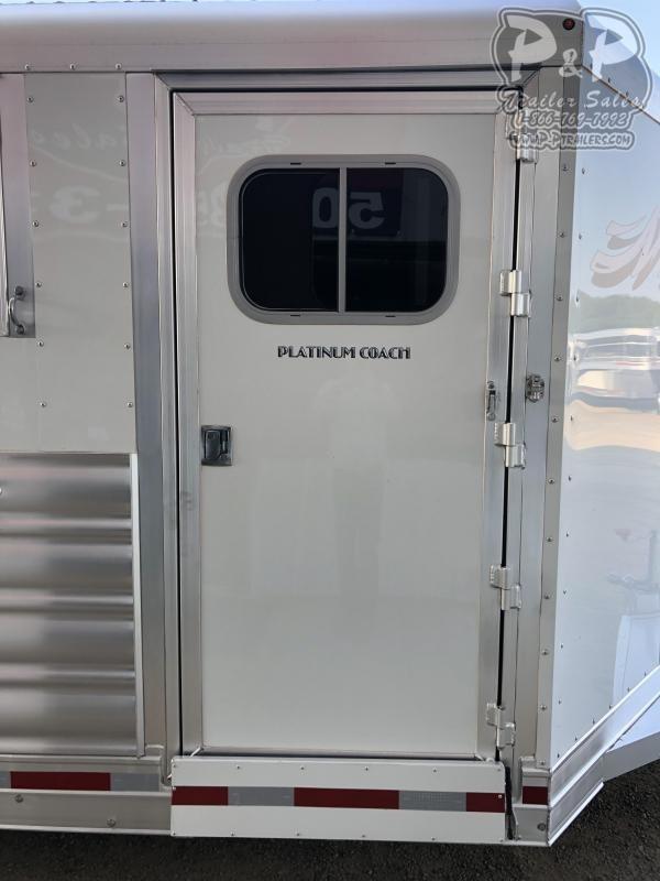2020 Platinum Coach 84BP 4 Horse Slant Load Trailer