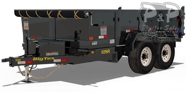 2020 Big Tex Trailers 10SR-12XL 12 ft Dump Trailer