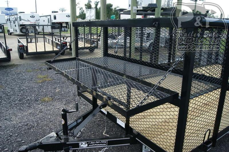2019 P and P 83x16Landscape 16 in Utility Trailer