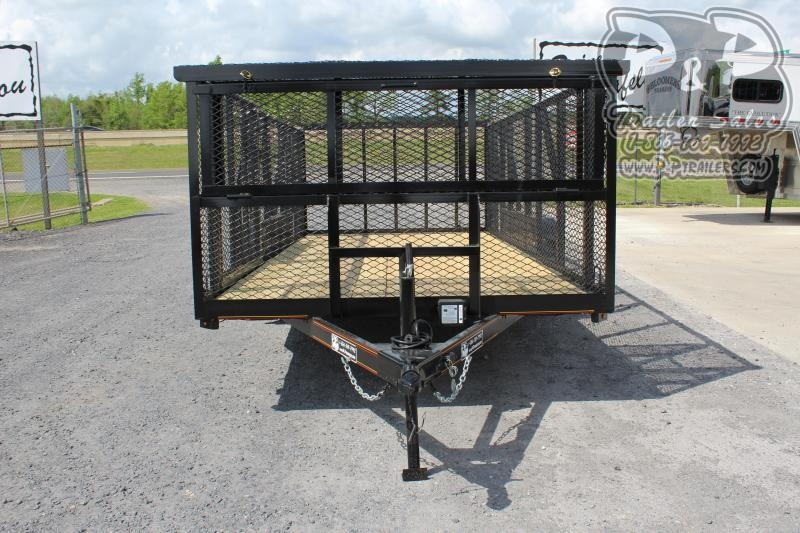 2020 P and P 83X16LANDSCAPE 16 ft Utility Trailer
