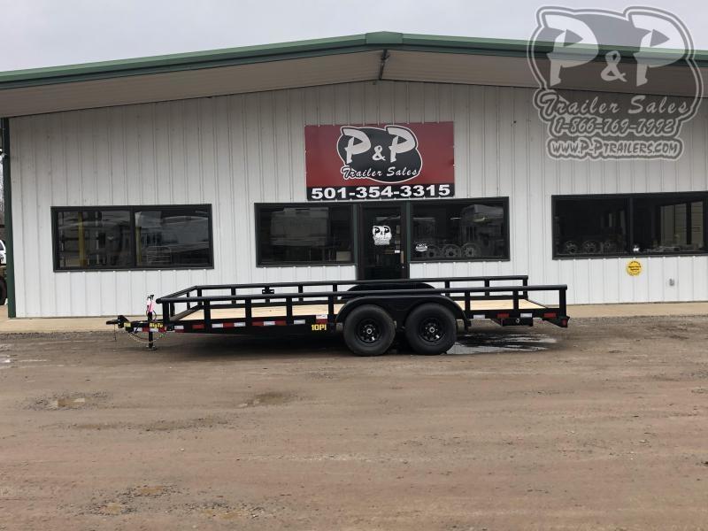 2020 Big Tex Trailers 10PI 18BK 18 ft Utility Trailer