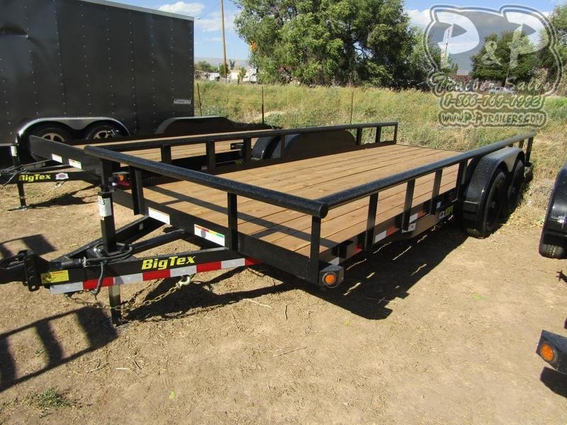 2020 Big Tex Trailers 10PI 18BK 18 ft Utility Trailer
