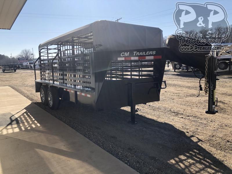 2020 CM CMS9440-1600260 16 ft Livestock Trailer