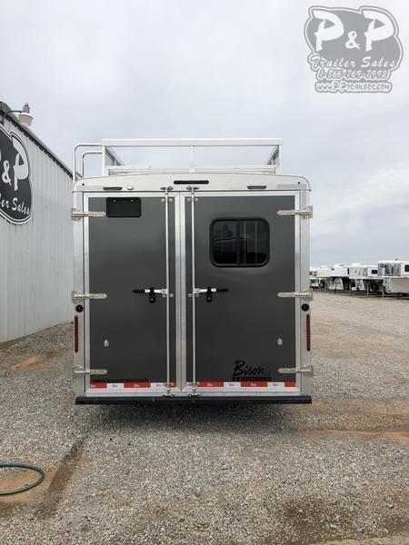 2019 Bison Laredo 3 Horse 16' L.Q. with superslide