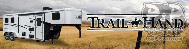 2020 Bison Trailers Trail Hand 7307THS 3 Horse Slant Load Trailer LQ