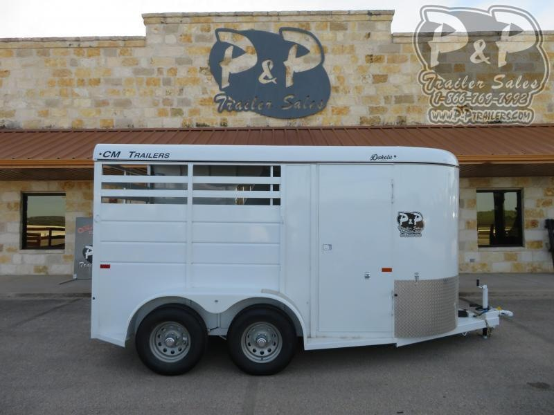 2020 CM 2 Horse 2 Horse Slant Load Trailer