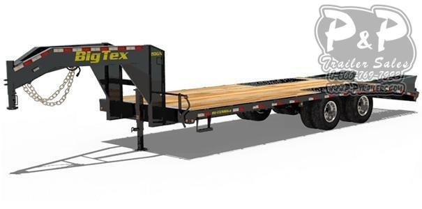 2020 Big Tex Trailers 20GN-205 Equipment Trailer
