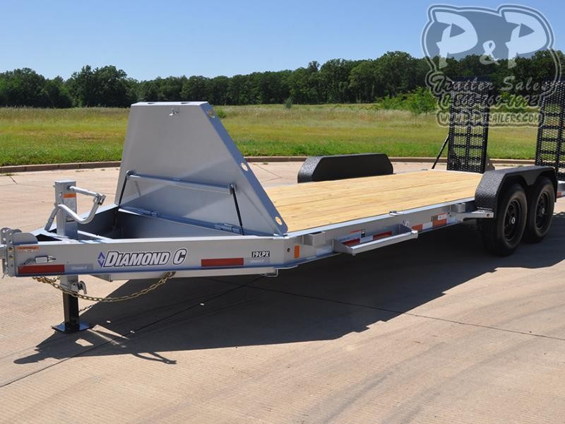 2020 Diamond C Trailers 19LPX 20' x 82 20 ft Flatbed Trailer