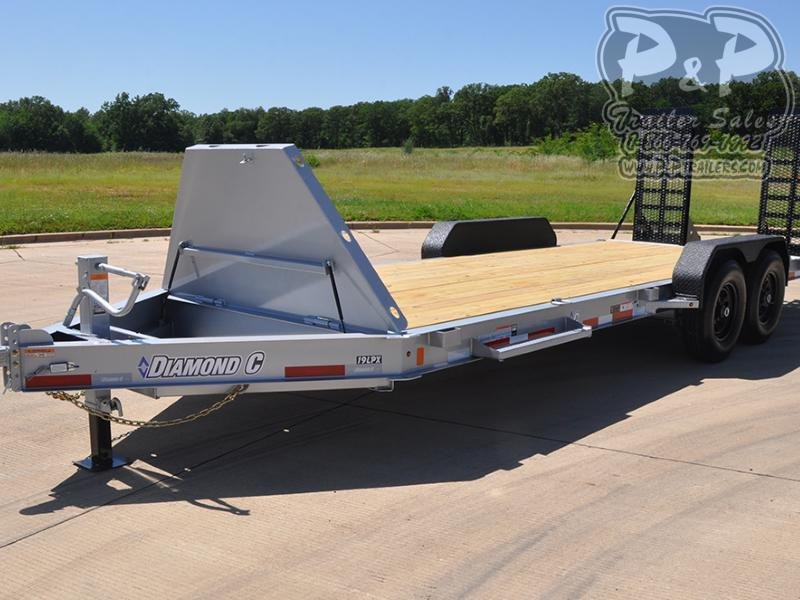 2020 Diamond C Trailers 19LPX 20' x 82 20 ft Flatbed Trailer