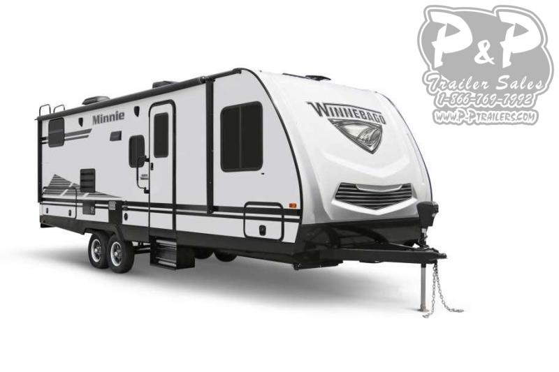 "2020 Winnebago Minnie 2500RL 27' 11"" ft Travel Trailer RV"