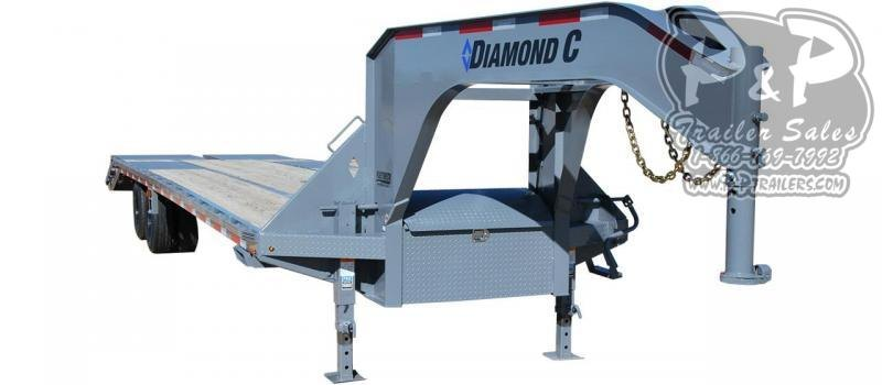 2020 Diamond C Trailers FMAX212 Gooseneck Equipment Trailer