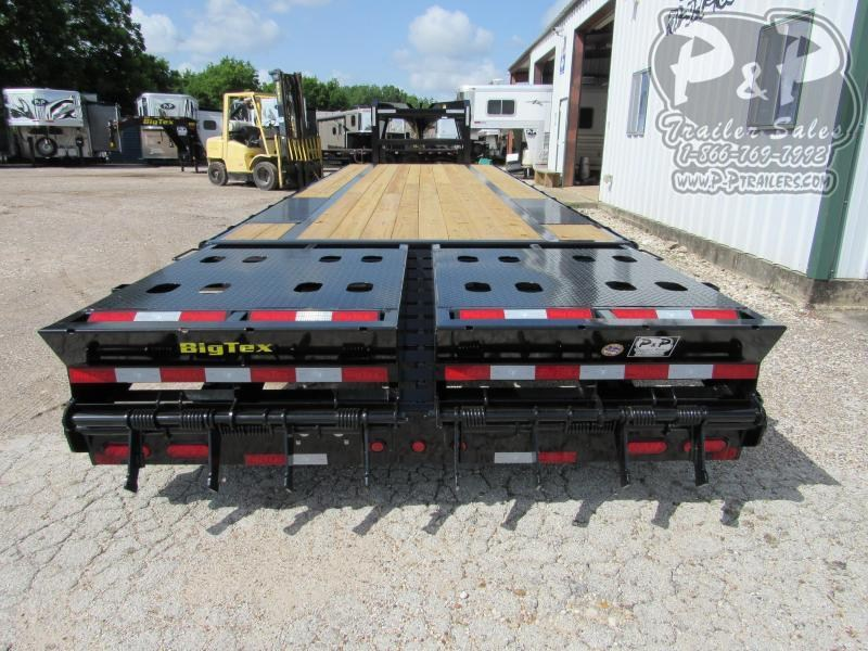 2020 Big Tex Trailers 14GN-22+5MR 27' ft Flatbed Trailer