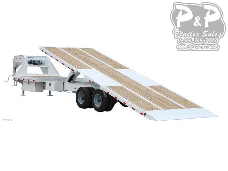 2020 PJ Trailers Tandem Dual Tilt (TD) Equipment Trailer