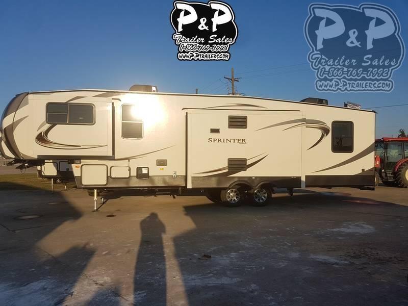 2020 Keystone Sprinter Limited 3340FWFLS 37.83 ft Fifth Wheel Campers RV