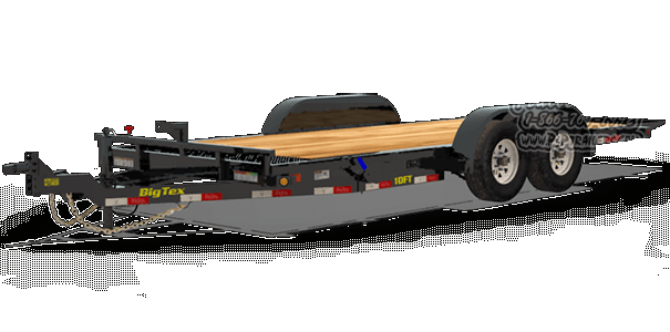 2019 Big Tex Trailers 10FT-20 Car / Racing Trailer