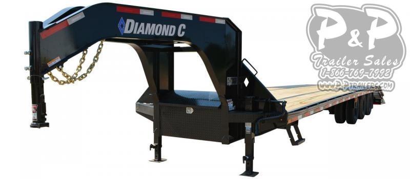 2020 Diamond C Trailers FMAX310 Gooseneck Equipment Trailer